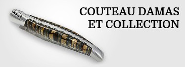 Couteau Damas et Collection
